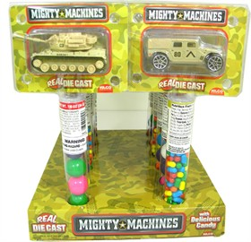 Military Mighty Machines With Candy 12 Count