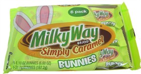 Milky Way Caramel Bunnies 6PK