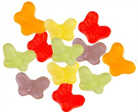 Mini Gummy Butterflies 5lb