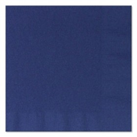 Navy Lunch Napkins 50 Count