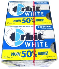 Orbit White Gum - Peppermint