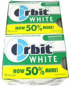Orbit White Gum - Spearmint