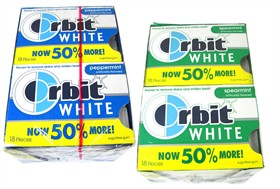 Orbit White Gum 18 Count