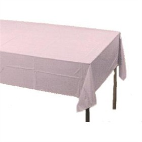 White Paper Tablecloth (Plastic lined)