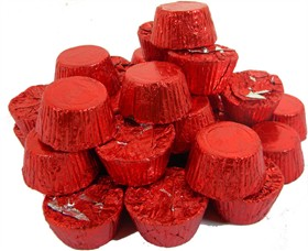 Peanut Butter Cups 24oz (Red Foil Wrapped)