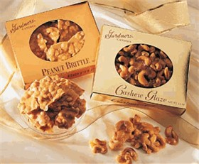 Peanut Brittle 14oz - Gardners Candies