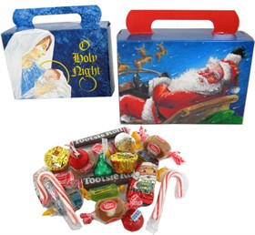 Personal Size Adult Christmas Candy Treat