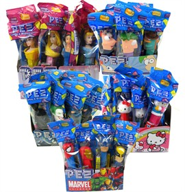 PEZ Candy With Dispenser 12ct