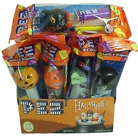 PEZ Halloween Candy Dispenser & Candy 12ct