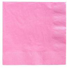 Pink Lunch Napkins 50 Count