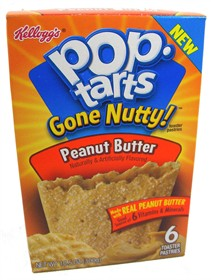 Pop Tarts Peanut Butter 3 Count