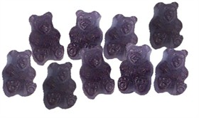 Grape Gummi Bears 20oz Bag
