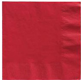 Red Lunch Napkins 50 Count
