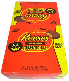 Reese's Peanut Butter Pumpkin King Size 24ct