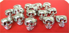 Skull Rings 144ct  (Plastic)
