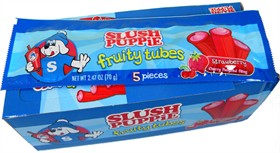 Slush Puppy Blueberry Candy Tubes 18ct