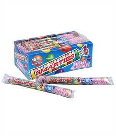 Smarties Bubble Gum 24ct