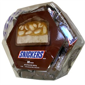Snickers Snack Size 90ct In Display Jar