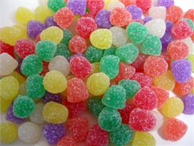 Spiced Gum Drops 32oz Small Assorted Colors