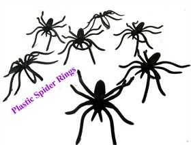 Spider Rings 144ct (Plastic)