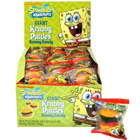 Sponge Bob Giant Crabby Patties 36ct