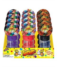Sports Gum Ball Machines 12ct