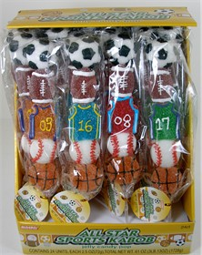 Sports Lollipop Jelly Kabobs 12ct