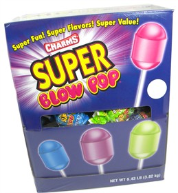Super Size Blow Pops Assorted 100 Count