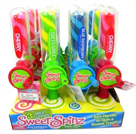 Sweet Spinz Lollipops 12 Count
