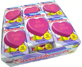 Sugar Free Conversation Hearts 18ct