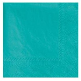 Teal Lunch Napkins 50 Count