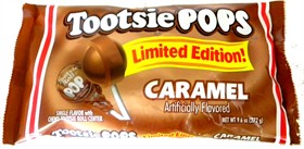 Tootsie Pops Caramel 16ct  Bag