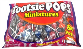 Tootsie Pops Mini 80 Count Bag