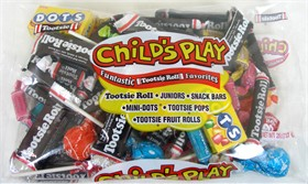 Tootsie Roll  Childs Play Assortment  26oz bag (60ct)