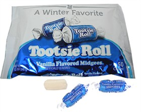 Tootsie Midgees Vanilla 50ct/ 12oz Bag