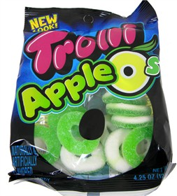 Gummy Candy Apple O's  4.25oz Bag