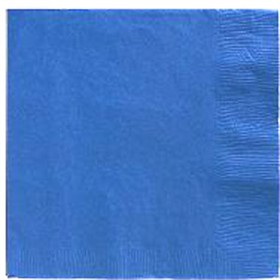 True Blue Beverage Napkins 3 Ply - 50 Count