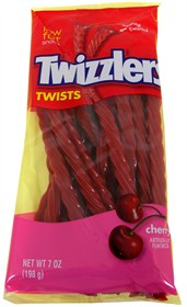 Twizzler Cherry 7oz Peg Bag
