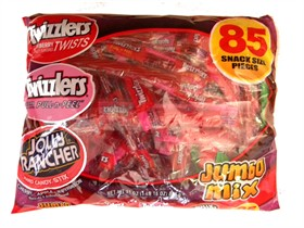 Twizzlers & Jolly Rancher Mix 85ct Bag
