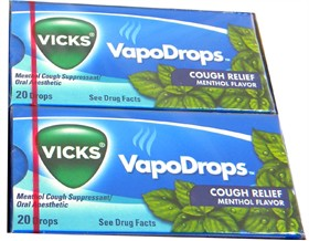 Vicks Cough Drops 20Ct - Menthol