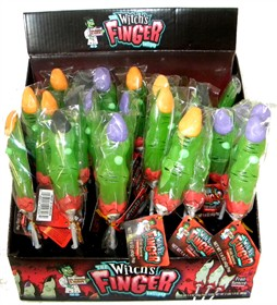 Spooky Witch Finger Lollipops 24ct