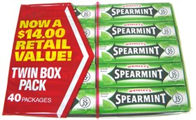 Wrigley's Chewing Gum - Spearmint